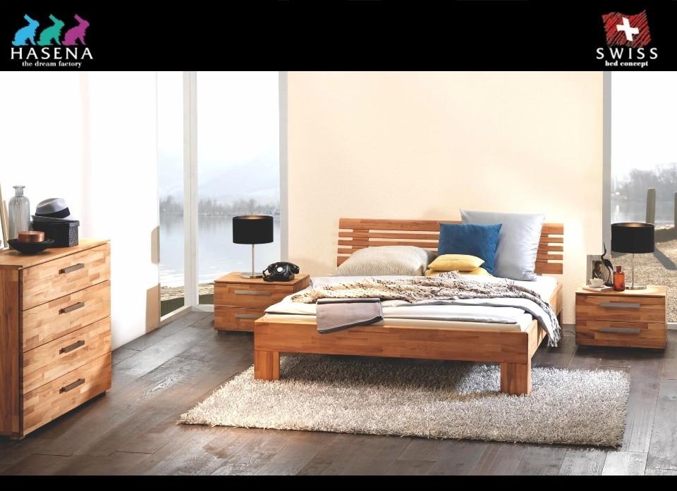Slaapkamer Massief Hout : Houten bed massief beuken woodline ledikant massa litto van hasena